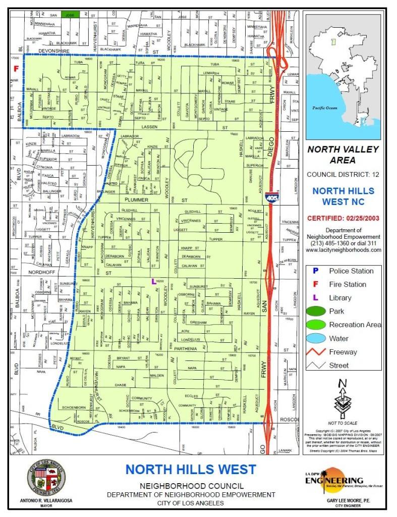North Hills West NC - Map-Boundaries