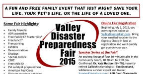 Valley Disaster Preparedness Fair To Be Hosted in North Hills West