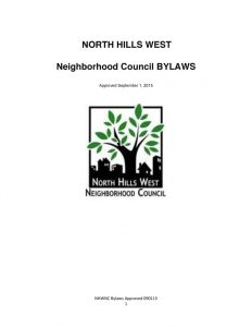 thumbnail of North Hills West NC Bylaws 2015.09.01