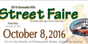 2016 Granada Hills Street Faire