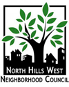 North Hills West Neighborhood Council Retina Logo