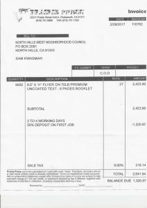 thumbnail of WESTSIDER INVOICES