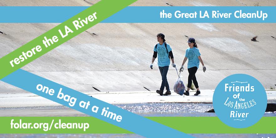 LA River Clean Up