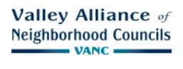 Valley Alliance of Neighborhood Councils