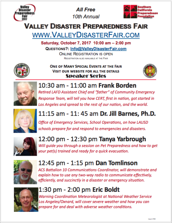 10th Annual Valley Disaster Preparedness Fair