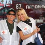 2 Red Cross Volunteers