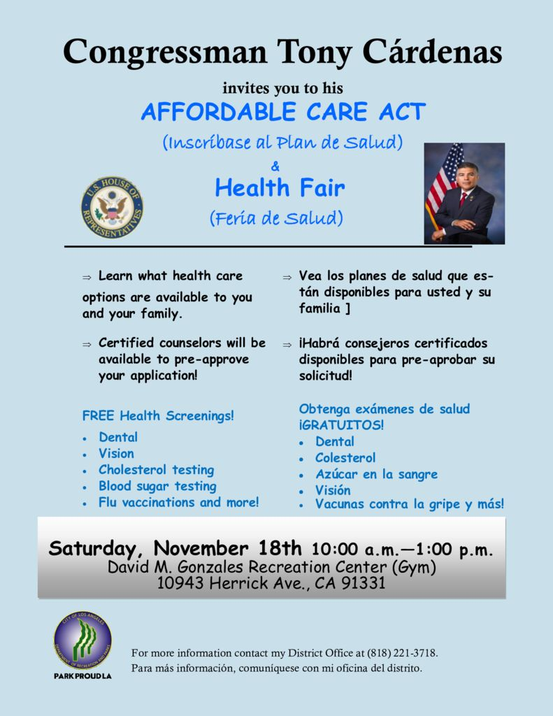 Affordable care act health fair north hills west neighborhood affordable care act health fair 1betcityfo Image collections
