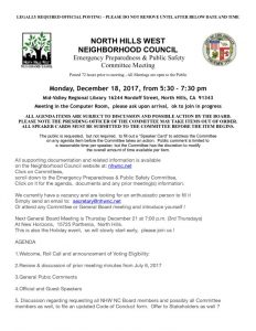 thumbnail of December 21, 2017 EP & PS Committee Agenda