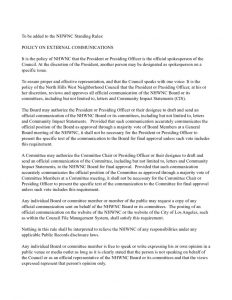 thumbnail of NHWNC Standing Rule on Communication