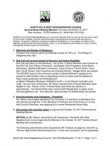 thumbnail of November 16, 2017 General Board Meeting Minutes Draft