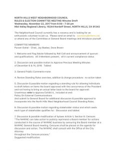 thumbnail of November 22, 2017 Rules & Elections Committee Minutes Draft