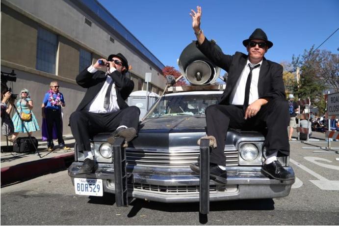 Occasional Pasadena Doo Dah Parade