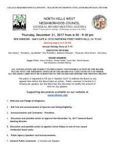thumbnail of North Hills West NC General Board Meeting Agenda 12:21:2017
