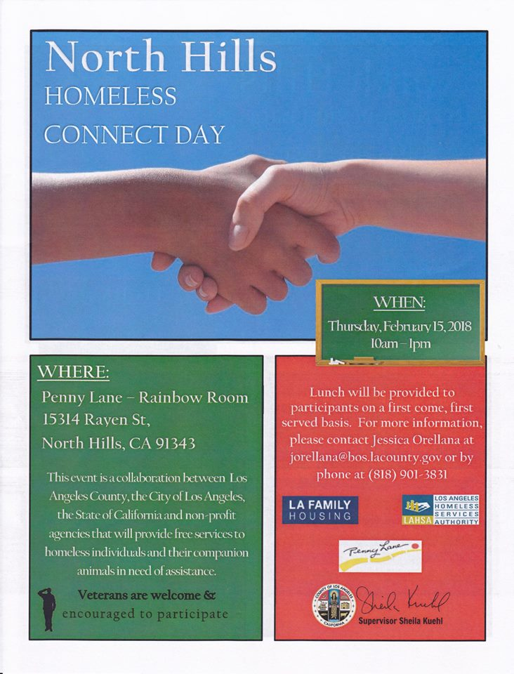 North Hills Homeless Connect Day
