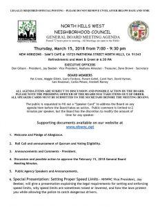 thumbnail of March 15, 2018 NHWNC General Board Meeting Agenda