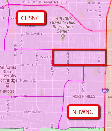 map NHW NC & GHS NC