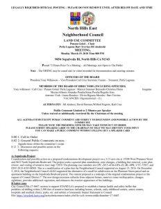 thumbnail of Land Use Meeting Agenda Monday 3-19-2018