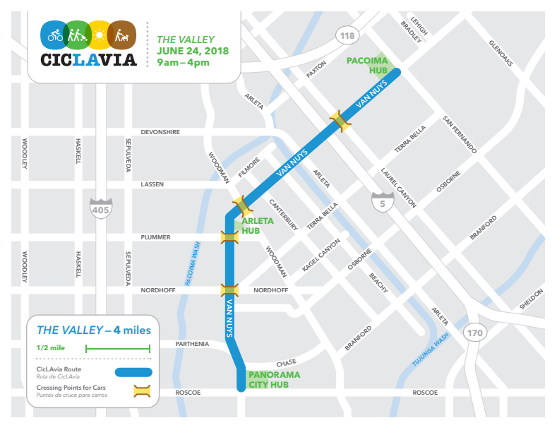 CicLAvia the Valley route
