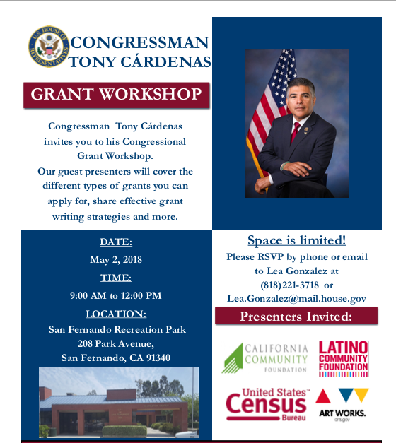 Cardenas Grant Workshop