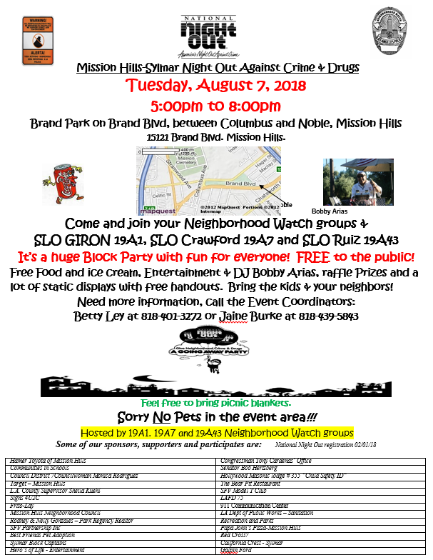 Mission National Night Out