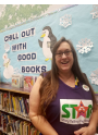 Carol Hart STAR reading at Library