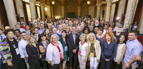 Neighborhood Council Congress in City Hall Chambers