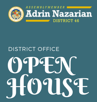 Assemblymember Adrin Nazarian, District 46, Open House