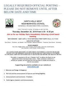 thumbnail of Final NHWNC Agenda December 20, 2018 (1)