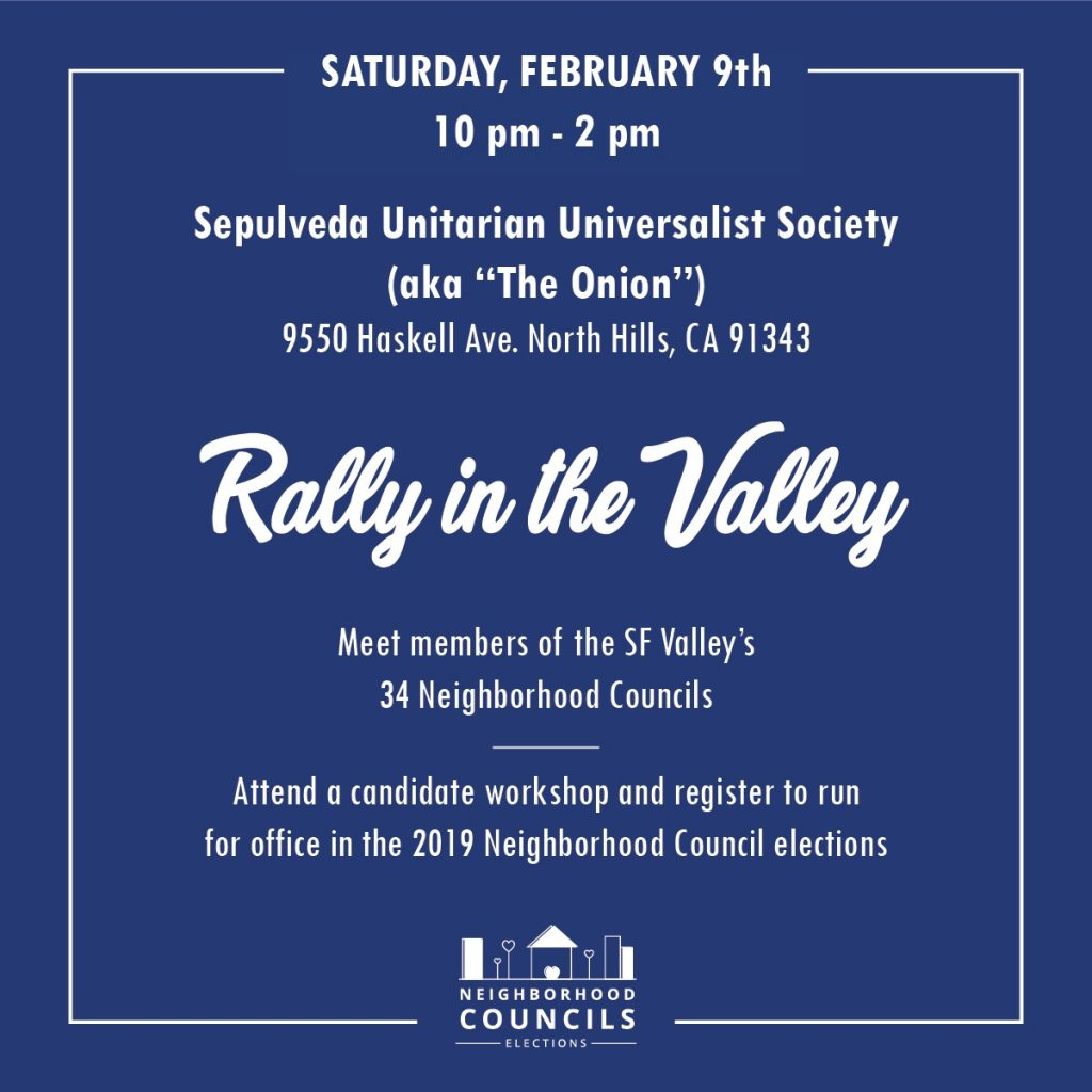 Rally in the Valley Candidate Workshop