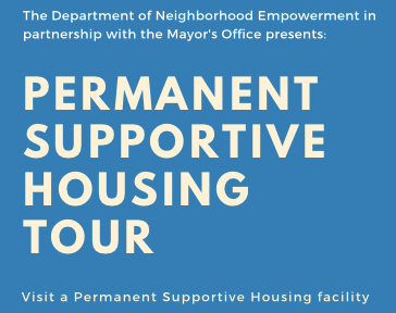Permanent Supportive Housing Tour logo