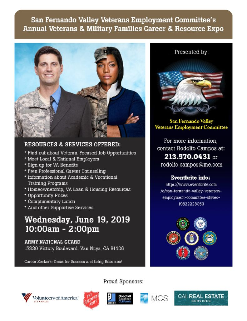Veterans and Military Families Resource & Career Expo