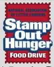 Letter Carrier Food Drive pix