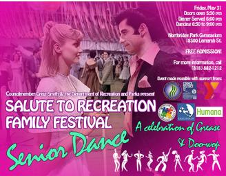 Senior Dance flyer