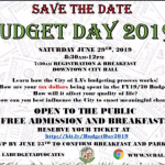 NC Budget Day flyer