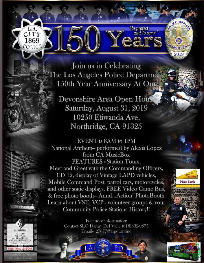 LAPD Devonshire Celebration