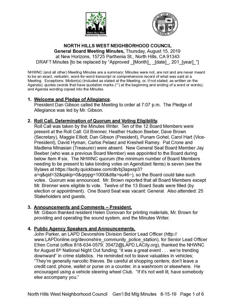 thumbnail of NHWNC DRAFT Minutes 2019-8-15