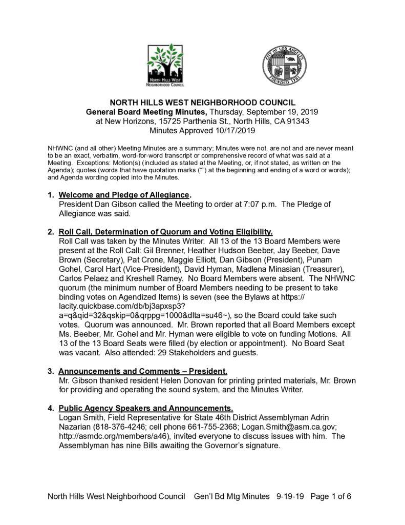 thumbnail of DRAFT Minutes 2019-9-19