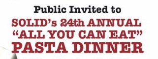 24th annual Pasta Dinner flyer logo