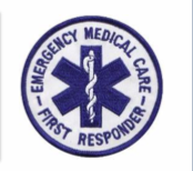 Emergency Medical Care logo patch