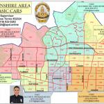Map, Devonshire area