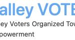 Valley Vote logo