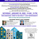 Flyer: land use town hall