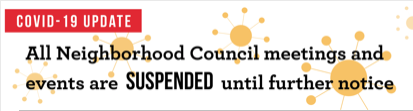 All NC meetings suspended logo