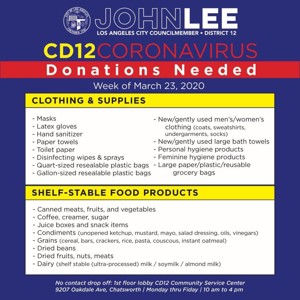 Lee Donations