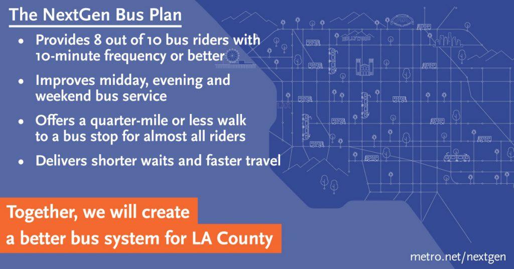 NextGen Bus Goals