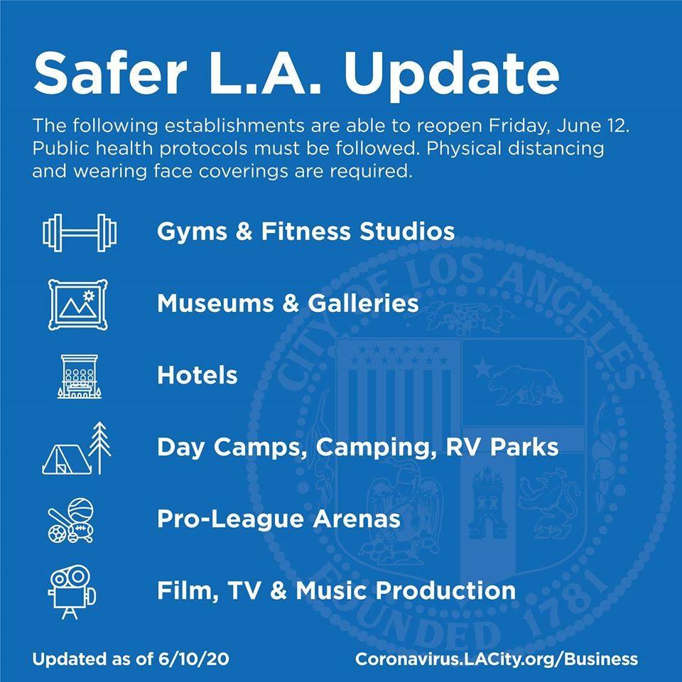 Safer LA Update