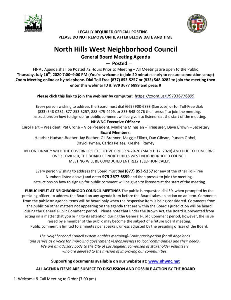 thumbnail of 2020.07.16 NHWNC GBM Agenda for VC Meeting