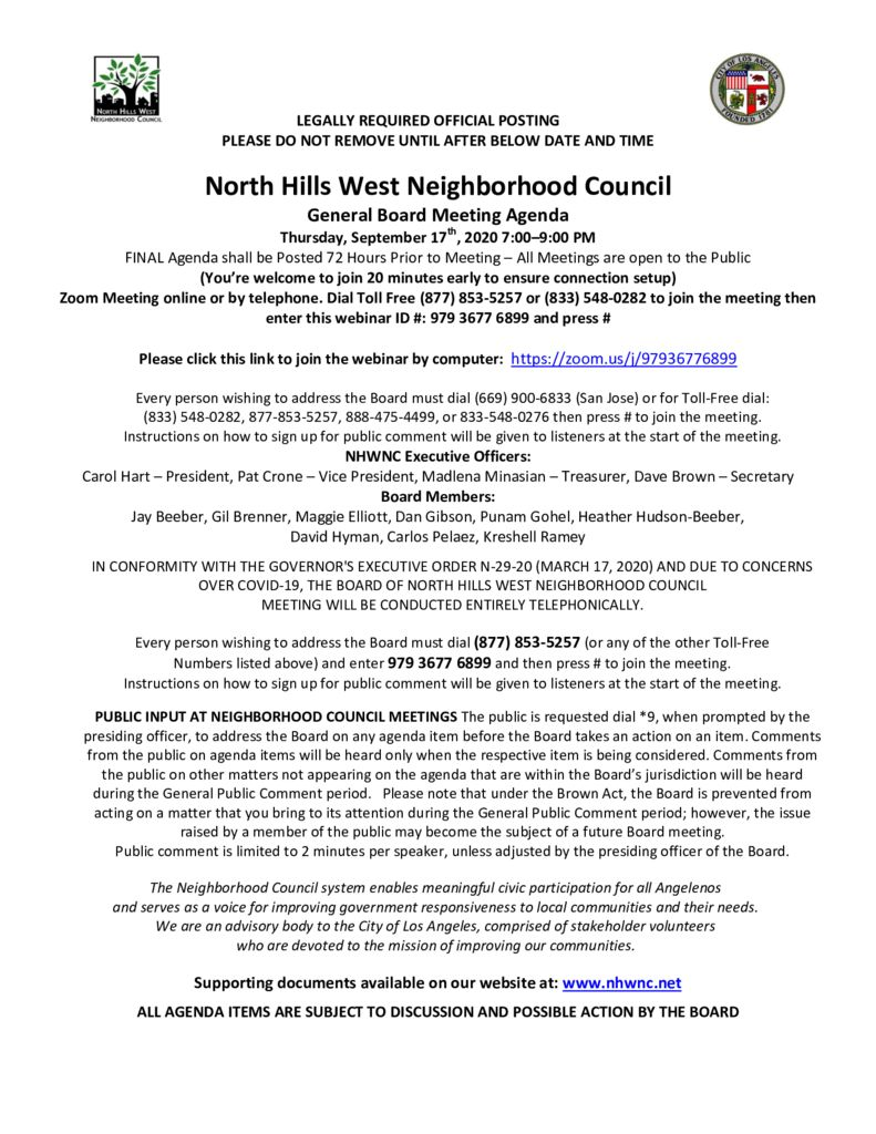 thumbnail of 2020.09.17 NHWNC GBM Agenda for Webinar Meeting