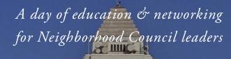Congress of Neighborhood Councils theme