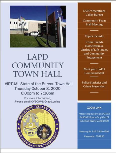 LAPD OVB flyer